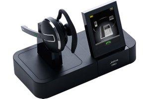 Cuffia wireless per telefono fisso, cellulare e PC. Touch screen a colori