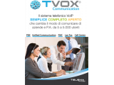 TVox Communication - Voip SIP PBX - Unified Communication - Lan Fax -Call Center